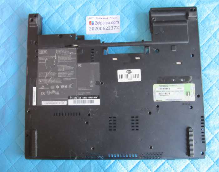 IBM THİNKPAD LENOVO T60 ALT KASA