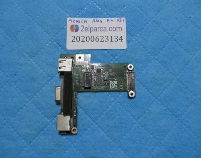 MONSTER ABRA A7 V3.1 USB 3.0 HDMI AUDİ CARD READER BOARD